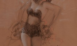 Study of a Pin-Up