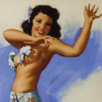 Earl Moran Hawaiian Dancer